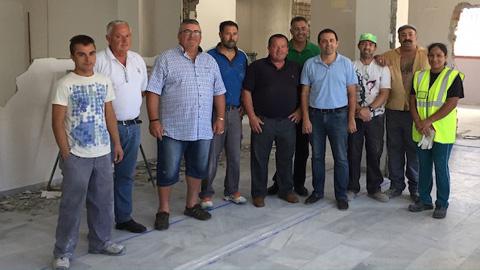 Comienzan las obras de renovación en el Centro de Rehabilitación Integral de la Asociación 'Ver de Olula', en la localidad almeriense de Olula del Río