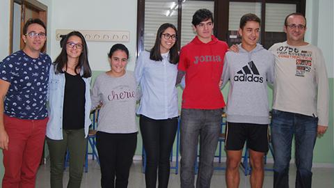 Cinco alumnos y alumnas del IES Nueva Scala de Rute participan en un programa de intercambio europeo con un instituto de Polonia dentro del programa Eramus +
