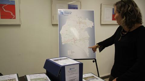 Escacena del Campo es uno de los municipios beneficiados por los trabajos de reparación de carreteras que comienzan hoy en toda la provincia de Huelva