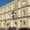 Encierro de estudiantes en la Universidad de Huelva contra la subida de tasas de matriculación y los recortes presupuestarios en la educación superior