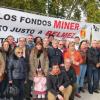 Vecinos de la localidad cordobesa de Bélmez inician una marcha a pie hasta la capital en apoyo de la acampada de sus ediles