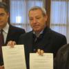Los portavoces de todos los Grupos políticos en el Parlamento de Andalucía presentan una iniciativa conjunta en defensa de los trabajadores de Roca