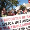 La sección sindical de UGT-A presentará hoy las demandas de conflicto colectivo para el ERE y el ERTE que afectan a más de 29 trabajadores