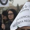 Los trabajadores del sector científico recuerdan al Consejo Superior de Investigaciones Científicas que los recortes en investigación repercuten en el bienestar de toda la sociedad