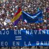 La plantilla del astillero de Navantia en San Fernando desarrolla hoy una nueva marcha solidaria a favor del comedor 'Pan Nuestro'