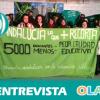"""""""La marcha de interinos ha sido un éxito pero falta que la administración dé una solución al despido de 4.500 profesores"""". Antonio Rodríguez (Plat. Docentes Andaluces Educación Pública)"""