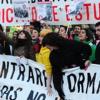 Los estudiantes llaman a una huelga de 72 horas a partir de este martes