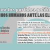 """La Onda Local de Andalucía emite en directo este miércoles, a partir de las 19:00 horas, el debate """"Los Derechos Humanos ante las elecciones andaluzas"""" con representantes de partidos políticos regionales"""