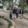 Coín inicia las obras para la construcción de un nuevo espacio de ocio y esparcimiento en la urbanización 'El Rodeo', un parque con una superficie de 8.000 metros cuadrados de extensión y vegetación de diseño