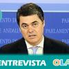 """""""Vamos a llevar nuestro programa electoral en todas nuestras iniciativas y vamos a seguir divulgando en todo lo que sean acuerdos para que Andalucía salga adelante"""", Carlos Rojas, portavoz PP-A en el Parlamento"""