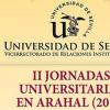 Arahal acoge hoy jueves la conferencia 'El origen de la vida en la tierra' enmarcada dentro de las II Jornadas Universitarias organizadas por la Universidad de Sevilla y el Ayuntamiento Arahalense