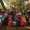 El Club Onubense de Deportes Adaptados celebra el fin de una temporada exitosa con unas jornadas de convivencia en el Parador de Mazagón, en las que han participado tanto padres como deportistas