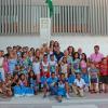 """18 niños y niñas saharauis de entre 10 y 14 años son acogidos por 15 familias de La Rinconada en una nueva edición del programa """"Vacaciones en paz"""" que cumple ya 20 años en el municipio sevillano"""