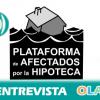 """""""Los desahucios siguen siendo una realidad cotidiana y muchas familias se quedan a diario en la calle, la pena es que lo hemos normalizado"""", José Aranda, portavoz de la Plataforma de Afectados por la Hipoteca en Málaga"""