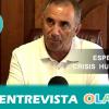 """""""Retiramos la bandera de la UE para mostrar nuestro rechazo al preacuerdo para cerrar las fronteras a personas que huyen de las guerras y la miseria que no han provocado"""", Antonio Nogales, alcalde de Pedrera"""