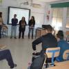"""Cine, educación, comunicación y teatro se unen en el programa de prevención """"Ciudades ante las Drogas"""", que imparte el instituto IES La Ribera de Almonte, con el objetivo de fomentar buenos hábitos"""