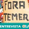 Las mujeres se están organizando en Brasil para protestar por las políticas neoliberales de Temer que están discriminando a los colectivos más vulnerables