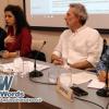 Leila Nachawati, Javier Bauluz y Javier Díaz Muriana alertan sobre los errores de la prensa cuando se informa sobre derechos humanos y emergencia humanitaria