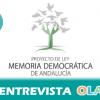 La Junta asegura que la aprobación de la Ley de Memoria Democrática es un hito que permitirá construir un relato consensuado y traerá la reparación de las víctimas