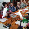 El proyecto 'Rurales y Diversas' de EMA-RTV, que fomenta la participación de mujeres de diversa procedencia a través de la radio, se encuentra hoy en Jimena de la Frontera