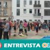 Vecinos recuperan un espacio del centro histórico de Málaga para denunciar el abandono y la turistificación