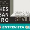 El XI Festival 'Noches de San Pedro' en Sanlúcar la Mayor potencia la atemporalidad de la música clásica