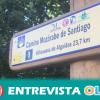 El Camino Mozárabe de Santiago recorre 100 kilómetros por la provincia de Málaga poniendo en valor el paisaje