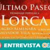 Colectivos memorialistas homenajean a Federico García Lorca en el 81 aniversario de su asesinato y a otros represaliados del franquismo