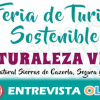 El Parque Natural de Cazorla, Segura y Las Villas se da a conocer en la II Feria de Turismo Sostenible Naturaleza Viva