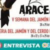 La Feria Regional del Jamón y del Cerdo Ibérico convierte a Aracena en el referente del jamón ibérico