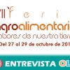 La Feria Agroalimentaria 'Sabores de Nuestra Tierra' de Fernán Núñez muestra los productos de calidad de toda la provincia