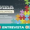 Andalucía ensalza la labor voluntaria de la ciudadanía en el XIX Congreso Estatal de Voluntariado que acoge nuestra tierra esta semana