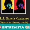 El libro 'Manuel José García Caparrós, muerte en blanco y verde' de José Chamizo homenajea al joven sindicalista a través del teatro