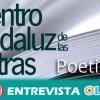 Andalucía celebra hoy el Día de la Poesía con un completo programa de actividades