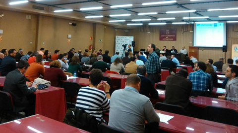 Asamblea de EMARTV en Antequera (27 de noviembre de 2015)