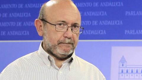 Ignacio García, diputado de IU, presidente de la comisión de investigación sobre el fraude de los ERE