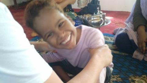 El proyecto 'Pequeña Rocío' pretende mejorar la calidad de vida de la población saharaui con discapacidad