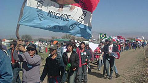 Miguel Galván, miembro del MOCASE-VC asesinado en el Paraje Simbol, al norte de Santiago del Estero