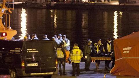 La Guardia Civil suspende la búsqueda de los inmigrantes desaparecidos en aguas del mar de Alborán