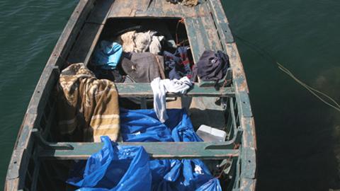Rescatadas 22 personas inmigrantes a bordo de cuatro pateras rumbo a Andalucía
