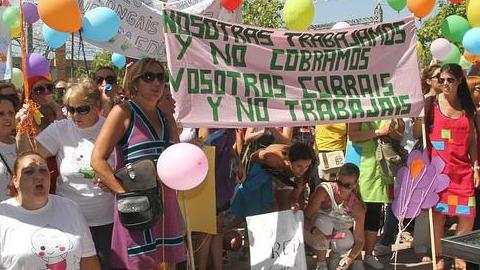 La Coordinadora de Escuelas Infantiles de Andalucía realiza hoy un paro parcial en protesta por los impagos de la Junta de Andalucía