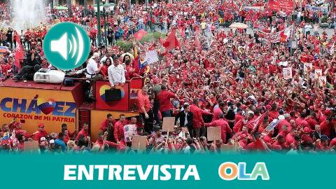 Caterine Hernández (Plataforma Bolivariana de Canarias): «Hay muy poco de real en lo que se proyecta de Venezuela y de su líder a nivel mundial»