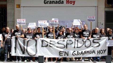 El Tribunal Superior de Justicia da la razón al Sindicato de Periodistas de Andalucía y anula el ERE del periódico Granada Hoy