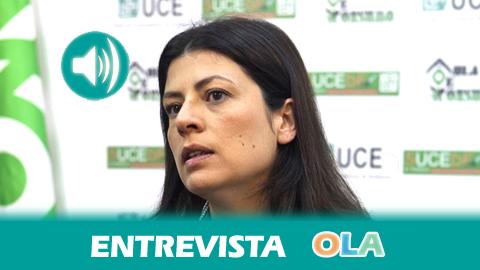 María Coronada Vázquez (UCE-UCA): «En estas fechas hay que comprar con cabeza, siendo consumidores responsables y adquiriendo solo lo necesario»