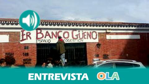 Álvaro Jiménez (Er Banco Güeno): «Es una iniciativa solidaria creada en uno de los barrios que sufre mayor marginalidad de toda España»