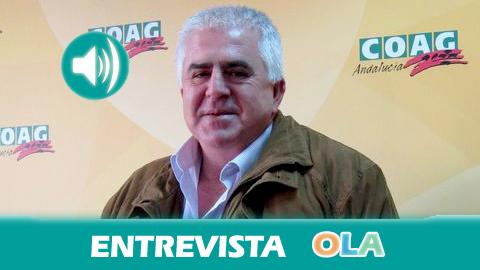 Miguel López (COAG-A): «Son las grandes cadenas de distribución las que asfixian al productor y al consumidor»