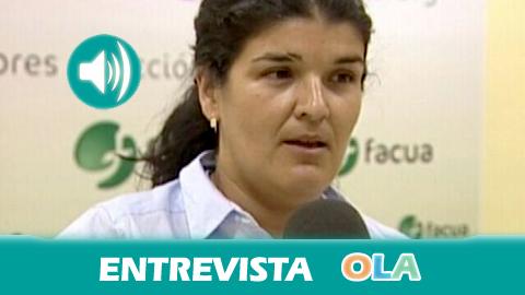 Rocío Algeciras (Facua-Consumidores en Acción): «Por mucho que queramos ahorrar en la factura de la luz no podemos dejar de enchufar aparatos como el frigorífico»