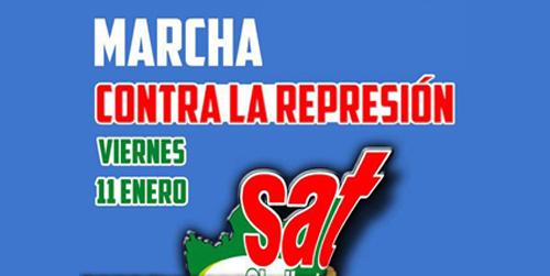 El Sindicato Andaluz de Trabajadores inicia una marcha hasta la cárcel de Morón en protesta por la represión que sufre su sindicato