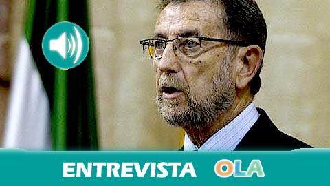 «Nuestro reto es conseguir que la población se sienta cercana a la política a través de cauces de participación ciudadana en el Parlamento». Manuel Gracia (presidente Parlamento de Andalucía)