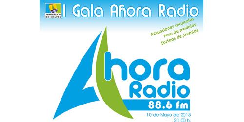 La emisora municipal de Gelves 'Ahora Radio' celebra esta noche una gala para presentar públicamente su nueva web